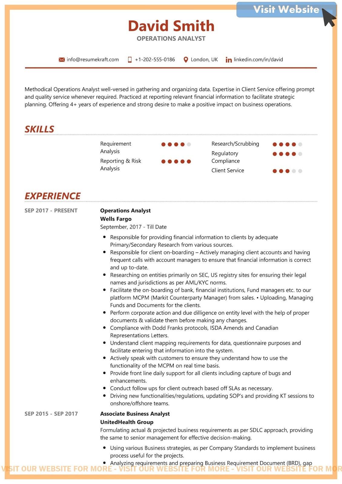 business data analyst resume examplesml