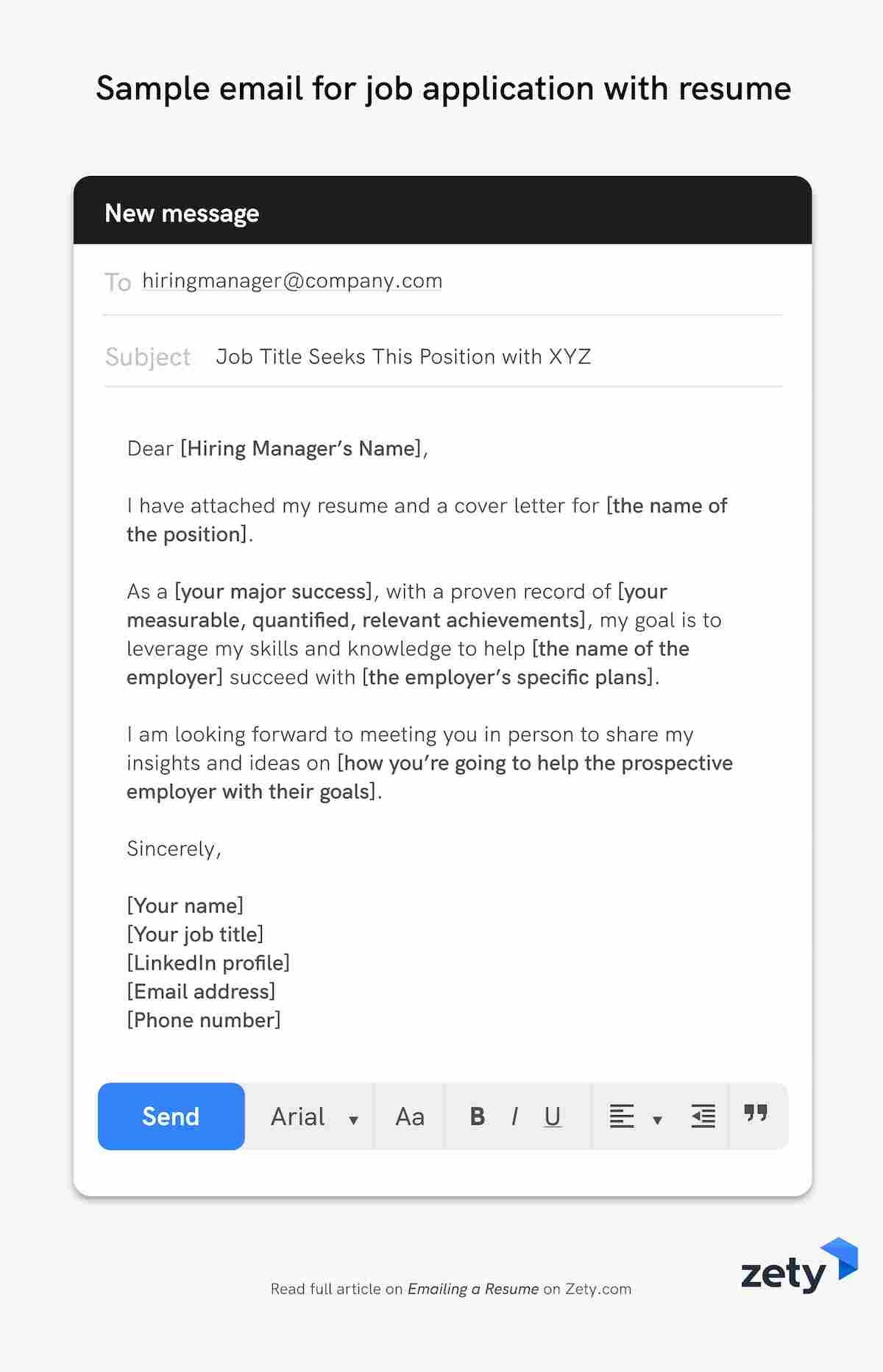 Email to Send Resume to Recruiter Sample Emailing A Resume: 12lancarrezekiq Job Application Email Samples