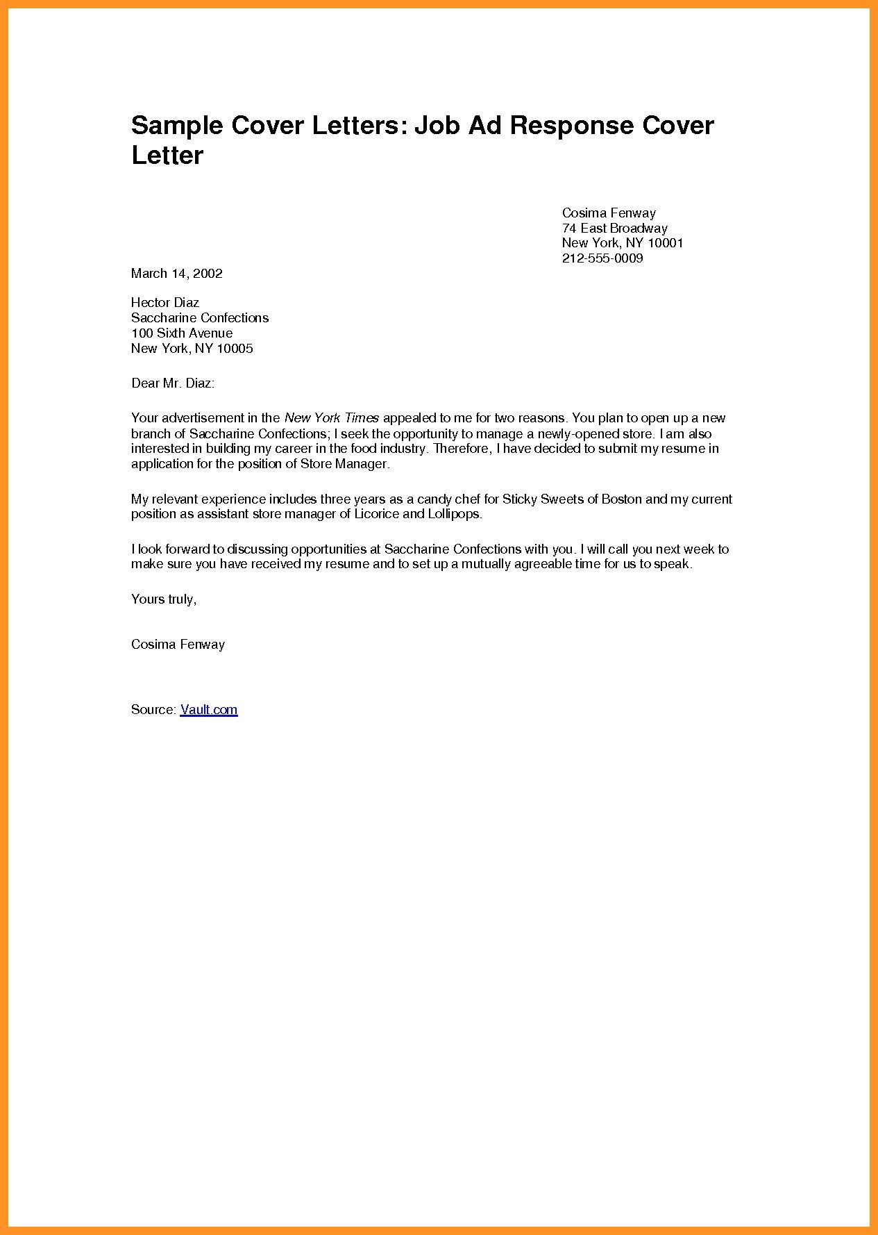 what is a job application cover letter