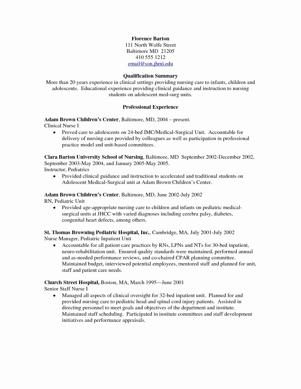 labor and delivery rn resume objectiveml