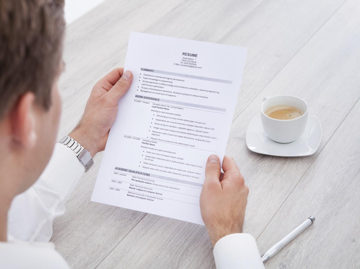 write perfect truck driver resume