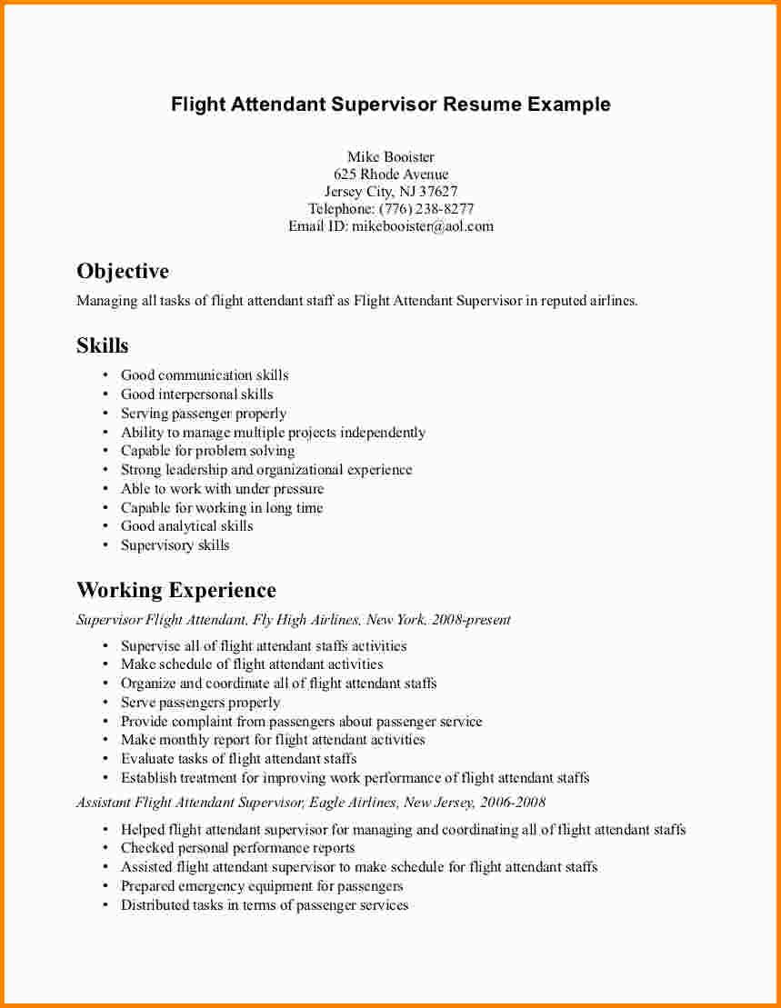 flight attendant cover letters no experienceml