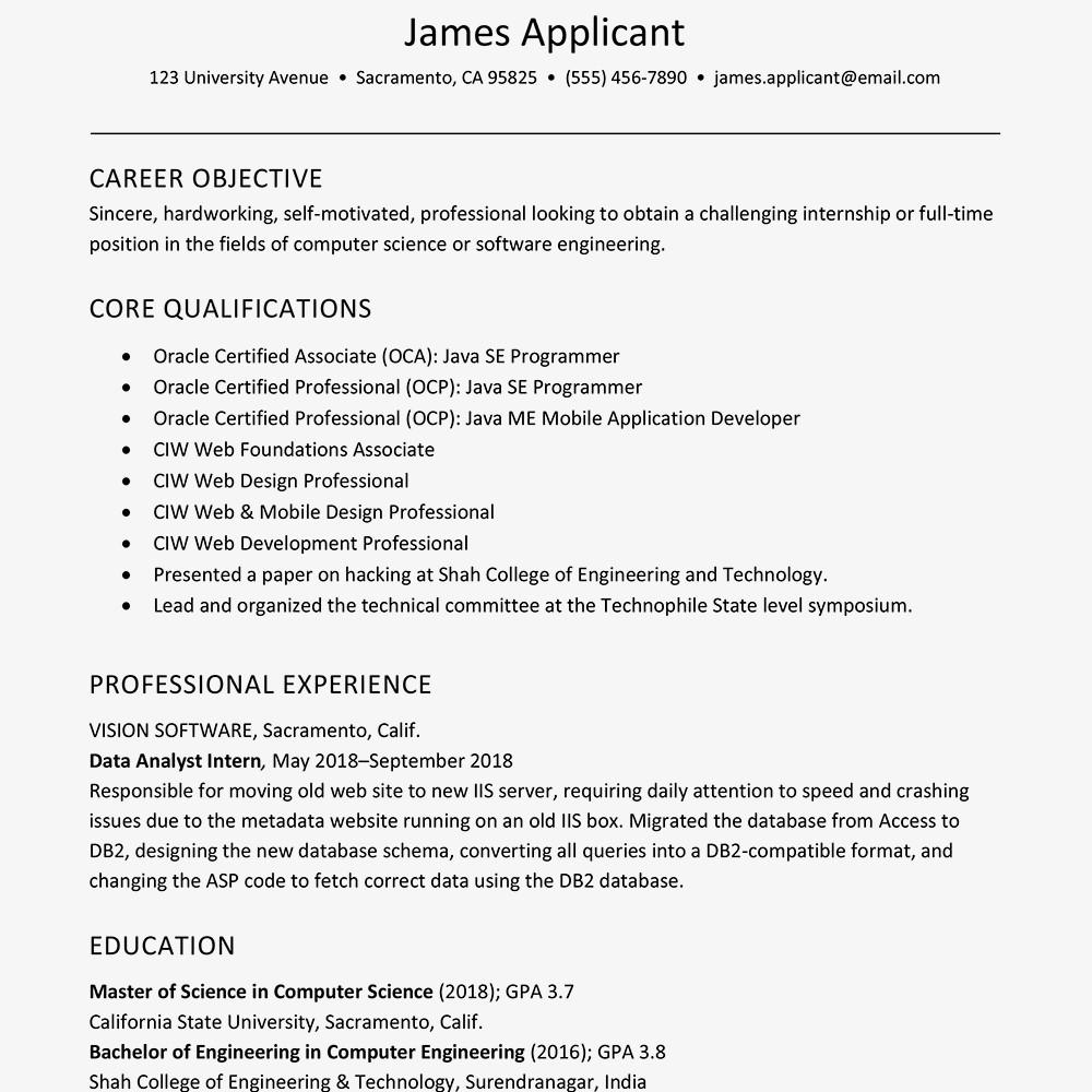 15 accounting resume sample for fresh graduate