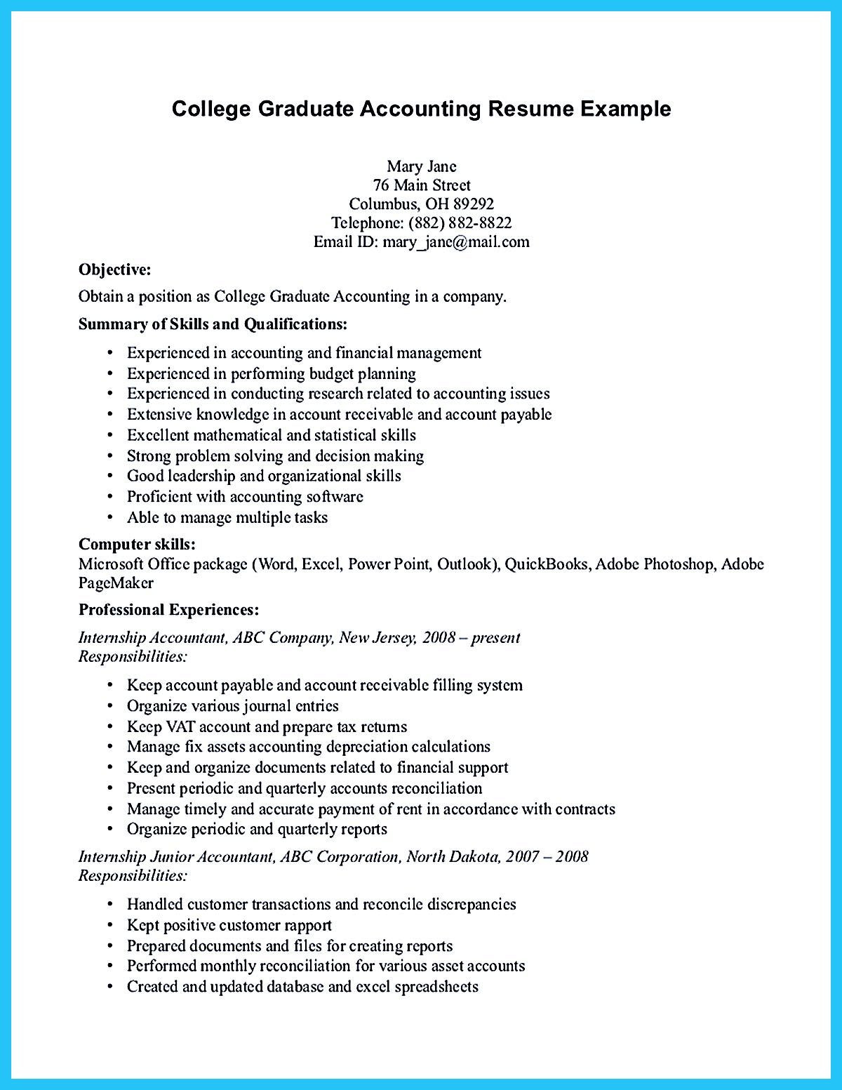accounting student resume here presents how the resume of accounting student clearly made the acco