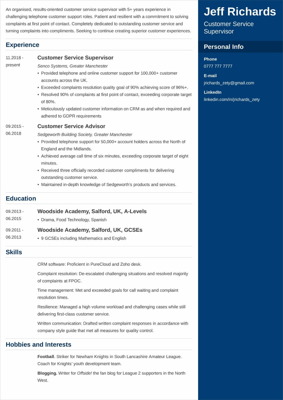 Sample Hobbies and Interest In Resume Best Hobbies and Interests to Put On A Cv [examples for 2021]