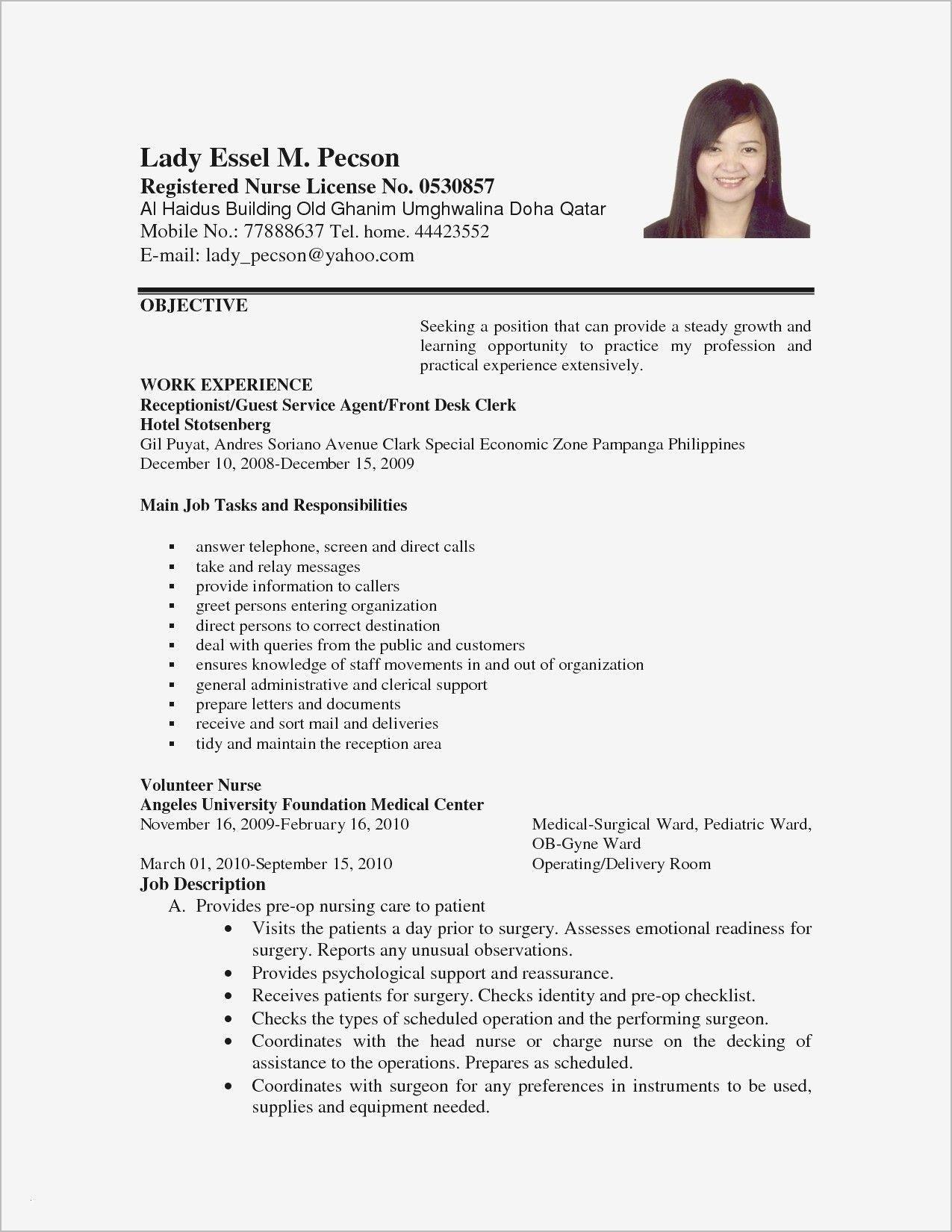 Sample Of Resume Letter for Job Application Download New Sample Resume Letter for Job #lettersample ...
