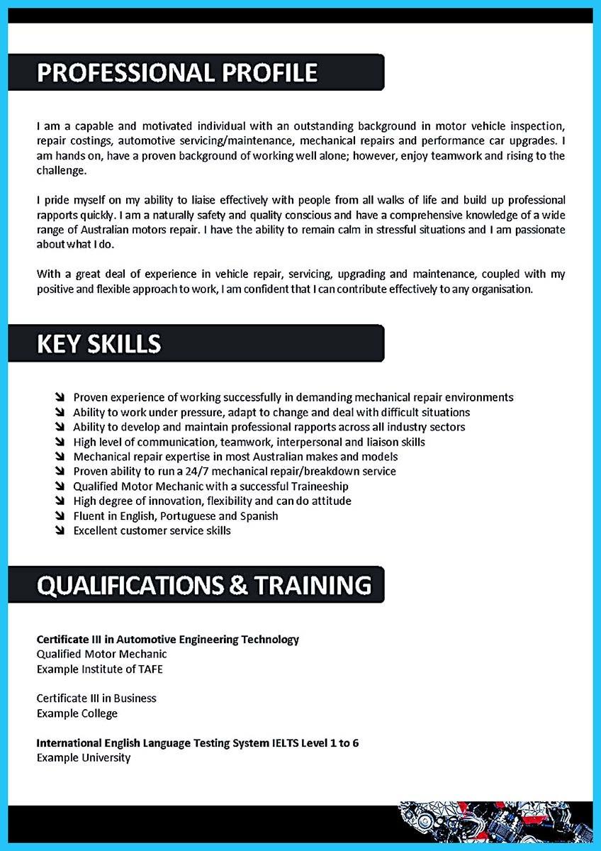 body technician resumeml