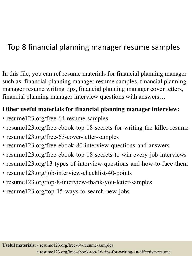 supervisor resume sampleml