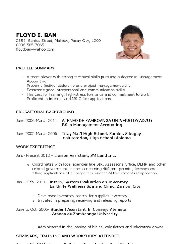 civil engineering sample resume forml