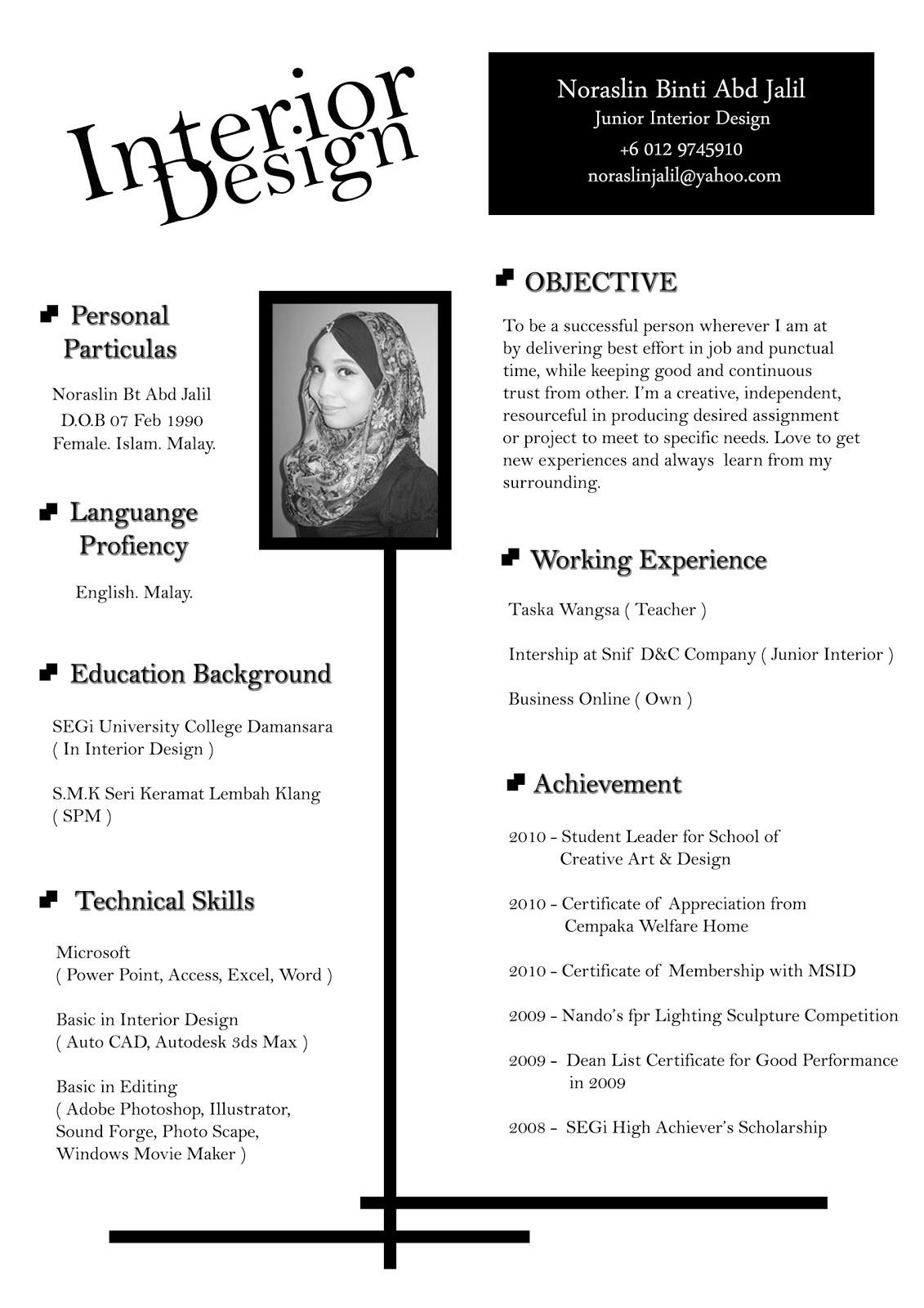 interior designer resumeml