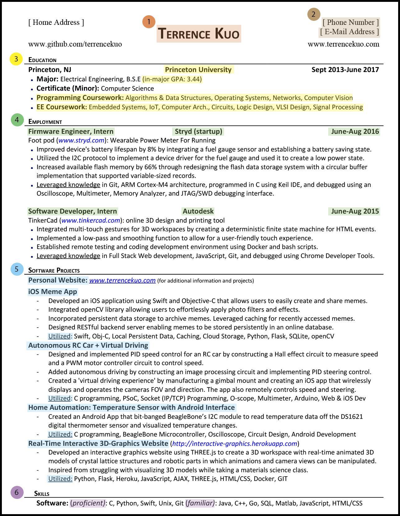 writing a killer software engineering resume b11c91ef699d