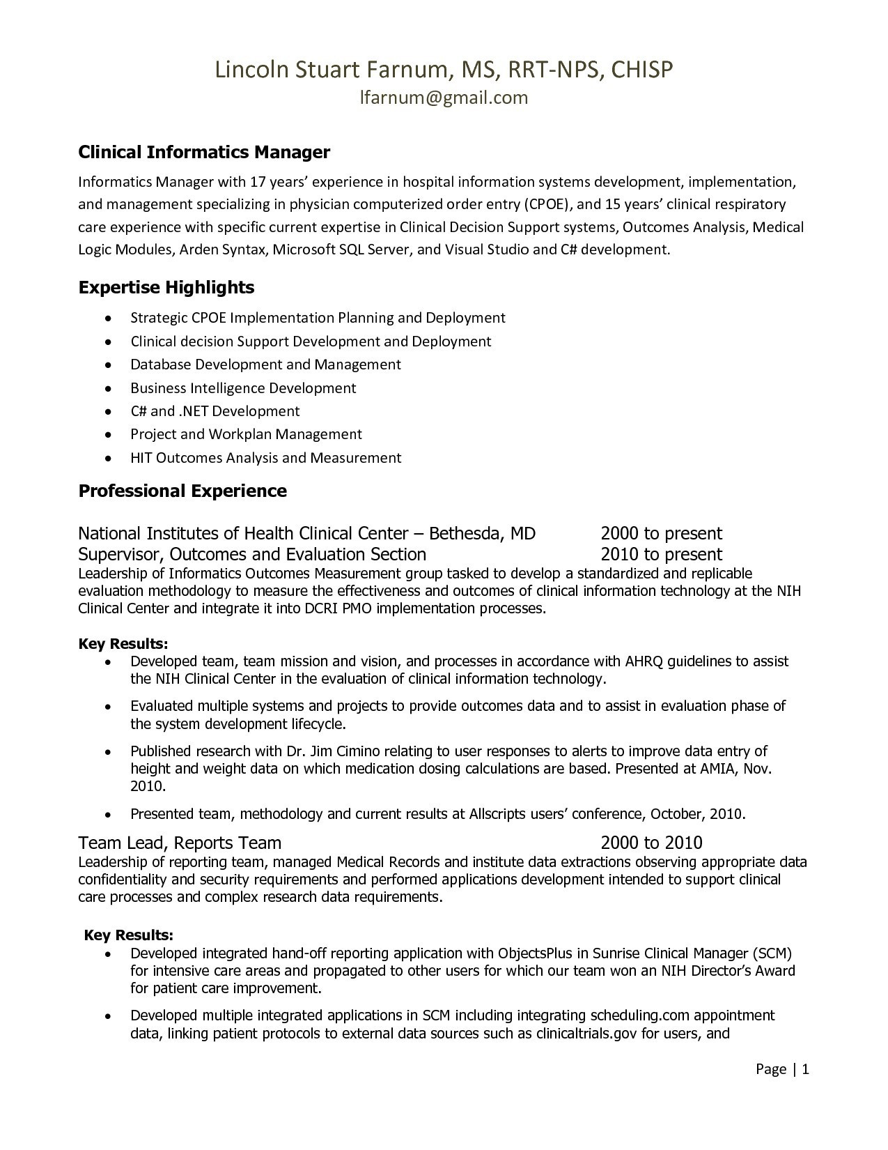 letter of re mendation for respiratory therapist