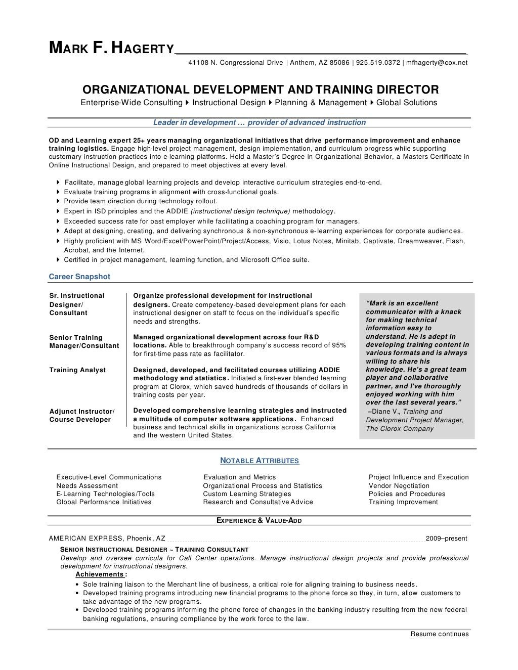 Training and Development Manager Resume Sample Training Manager Cv Examples October 2021