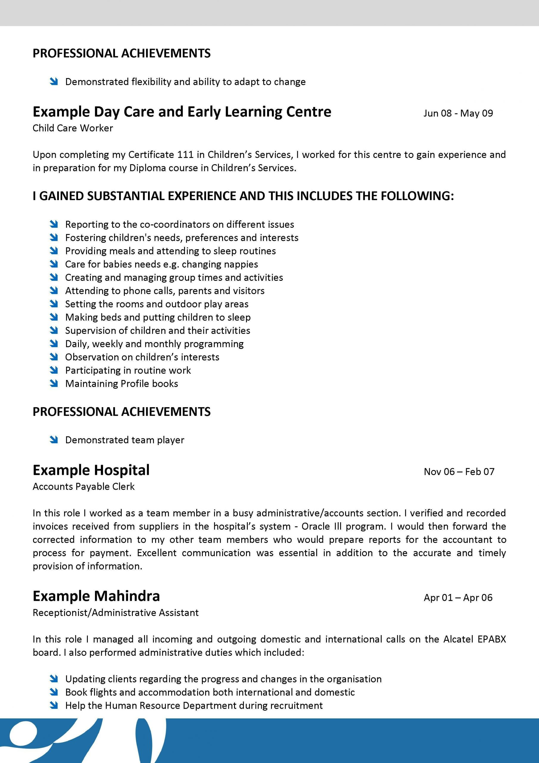 youth care worker cover letter no experienceml