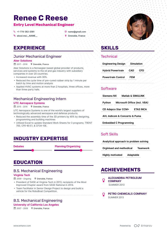 Entry Level Petroleum Engineering Resume Sample Entry Level Mechanical Engineer Resume Samples and 6lancarrezekiq Examples ...