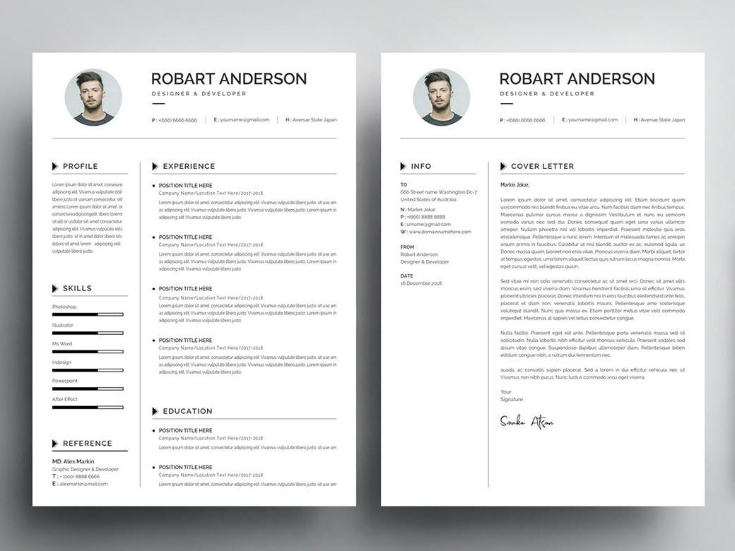 Free Fresh Graduate Resume Template Cover Letter