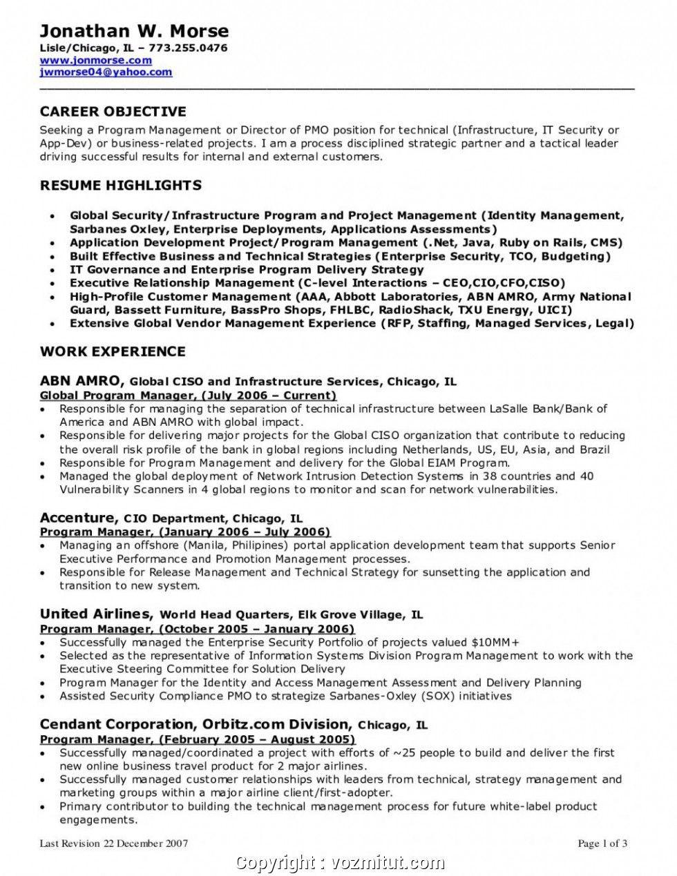 25 new career objective for cvml