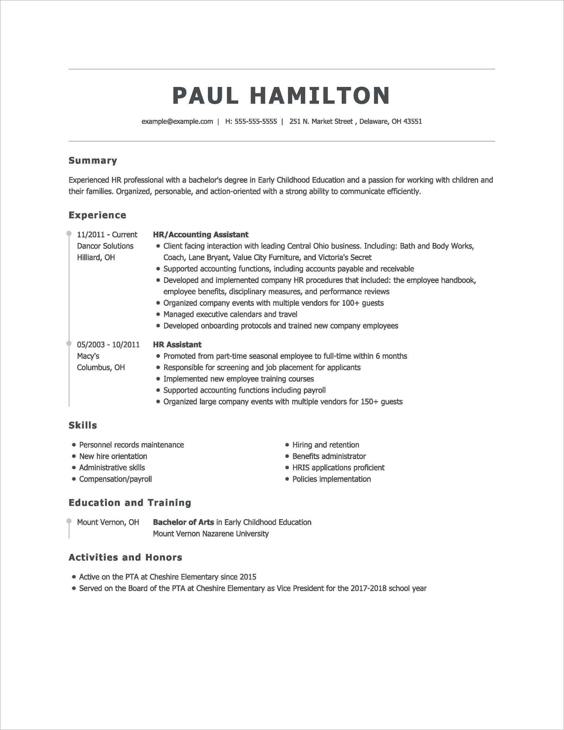 best online resume builders