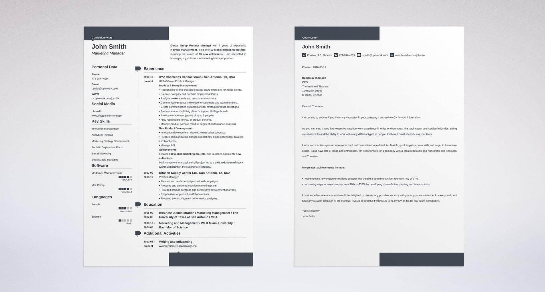 multiple positions on a resume