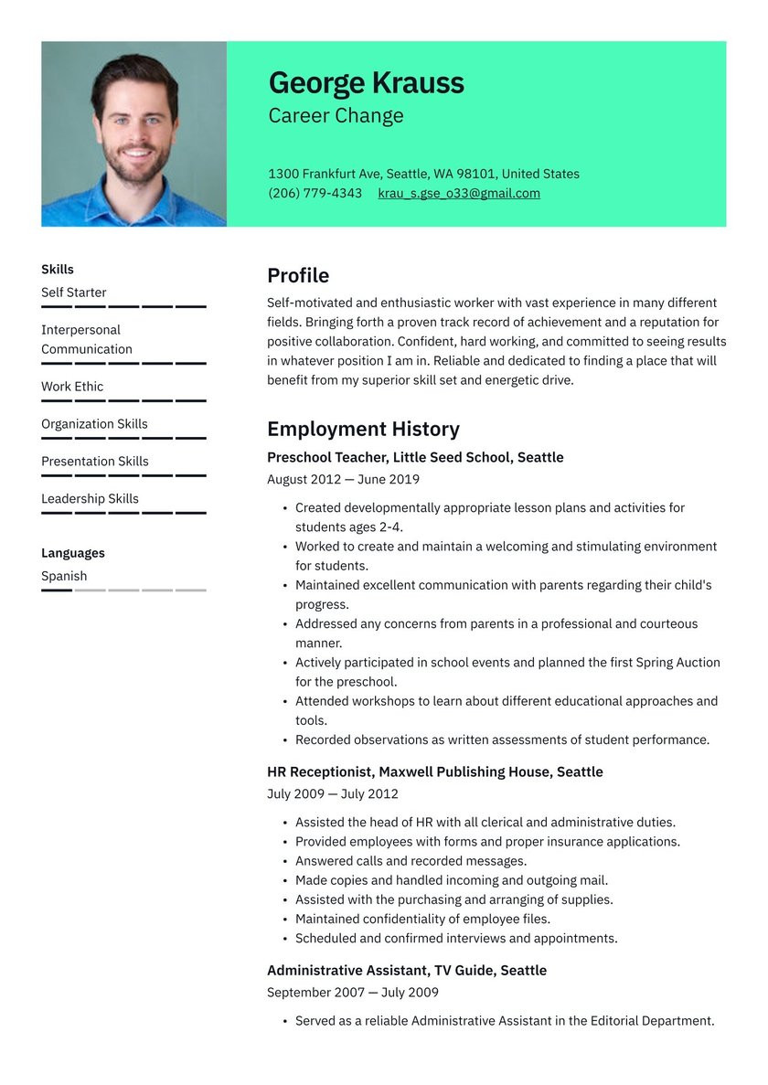 career change