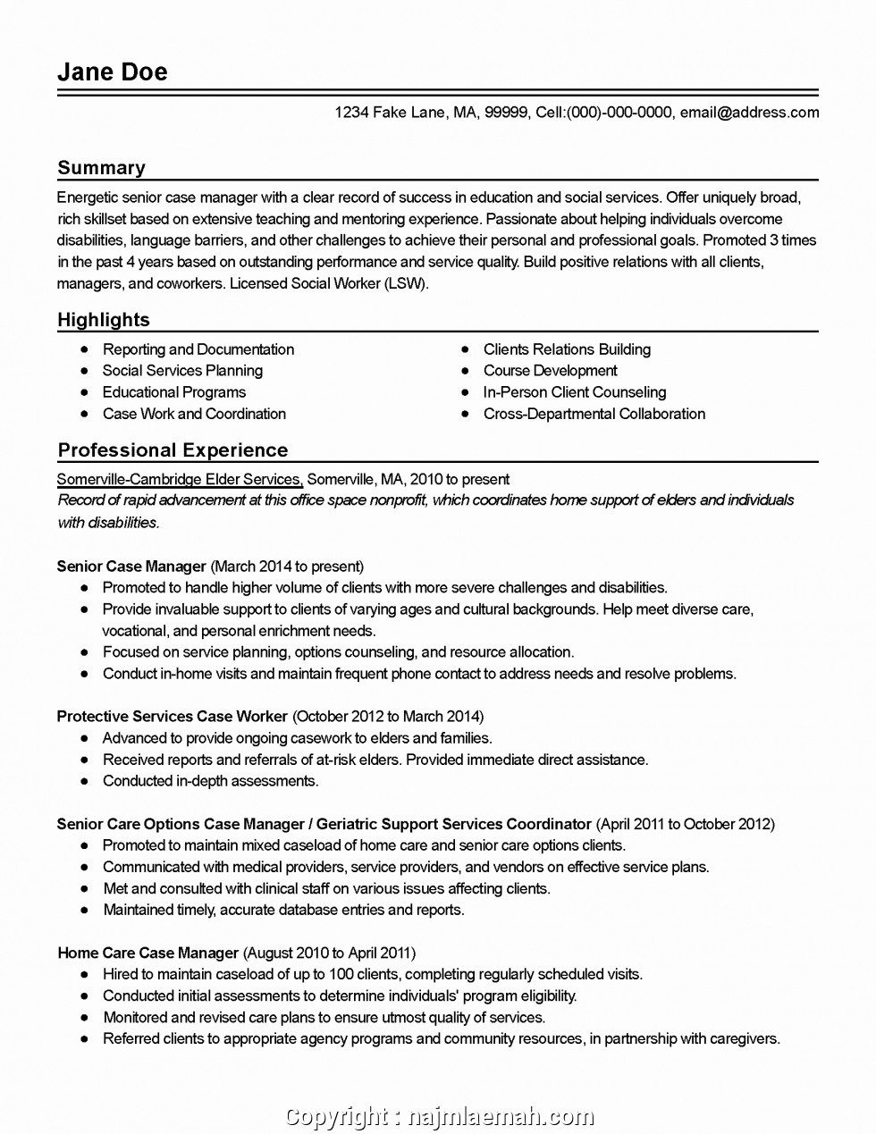 child protection manager resumeml