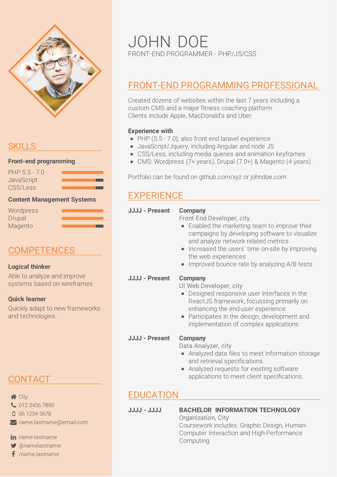 Sample Resume for Fresh Graduates with No Experience How to Write A Strong Cv without Work Experience (cv Template for ...