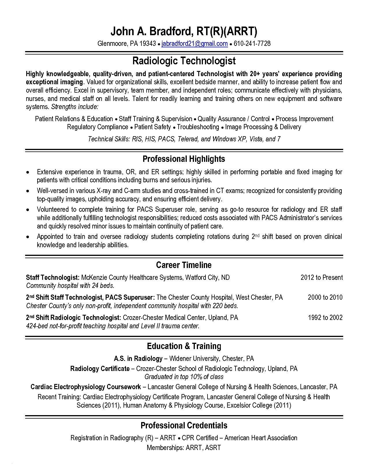 Sample Resume for Medical Technologist Fresh Graduate Sample Resume for Medical Technologist Fresh Graduate - Good ...