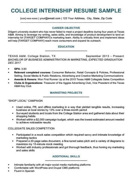 10 resume template for someone who has