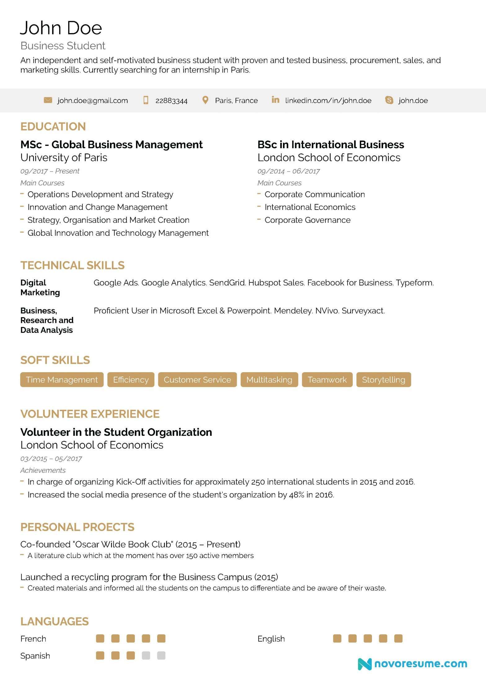 Sample Resume for someone with No Experience No Experience Resume 2019 Ultimate Guide Infographic