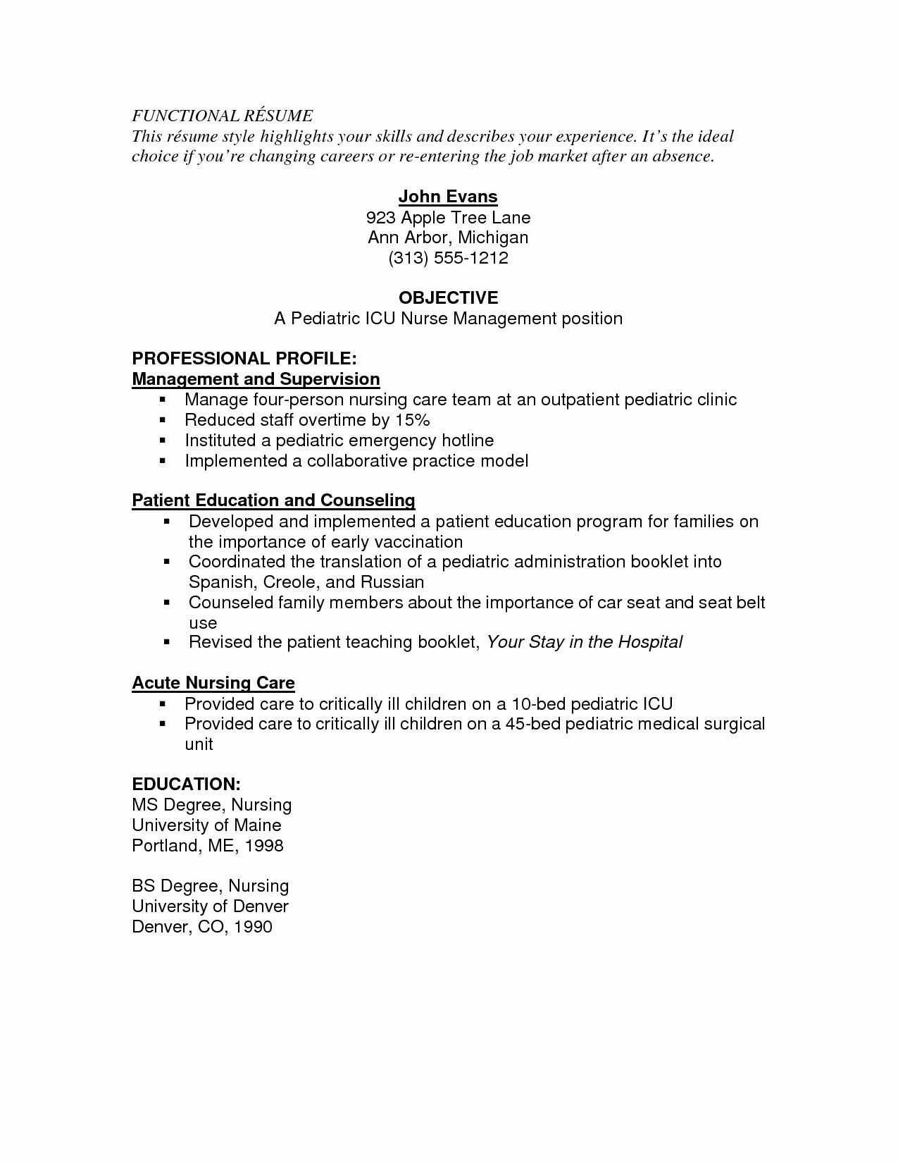 med surg registered nurse resumeml