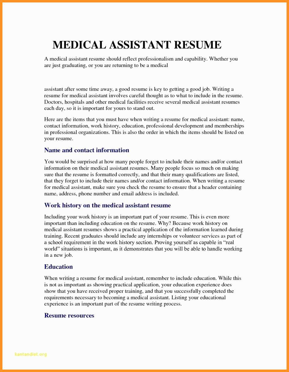 13 14 entry level medical assistant resume samples