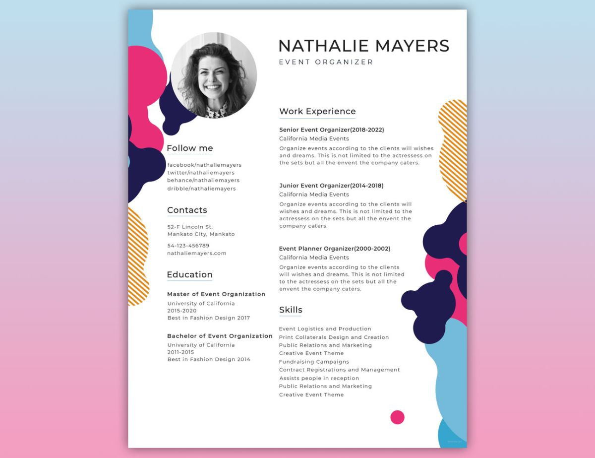 Graphic Designer Resume Sample for Fresher How to Create the Perfect Design Resumé Creative Bloq
