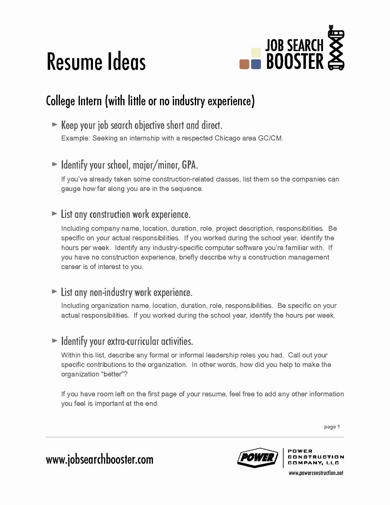 Sample Objective In Resume for First Job First Job Resume Summary Examples Best Resume Examples
