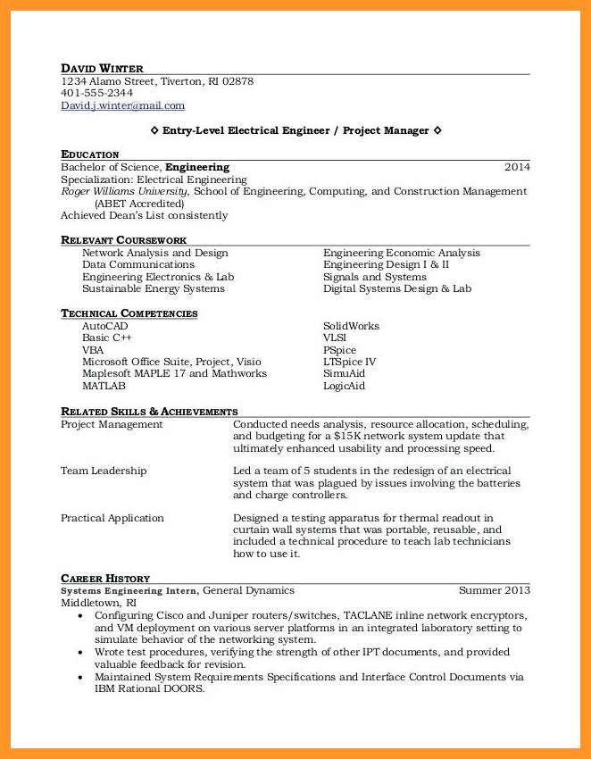 11 12 entry level college student resume samples