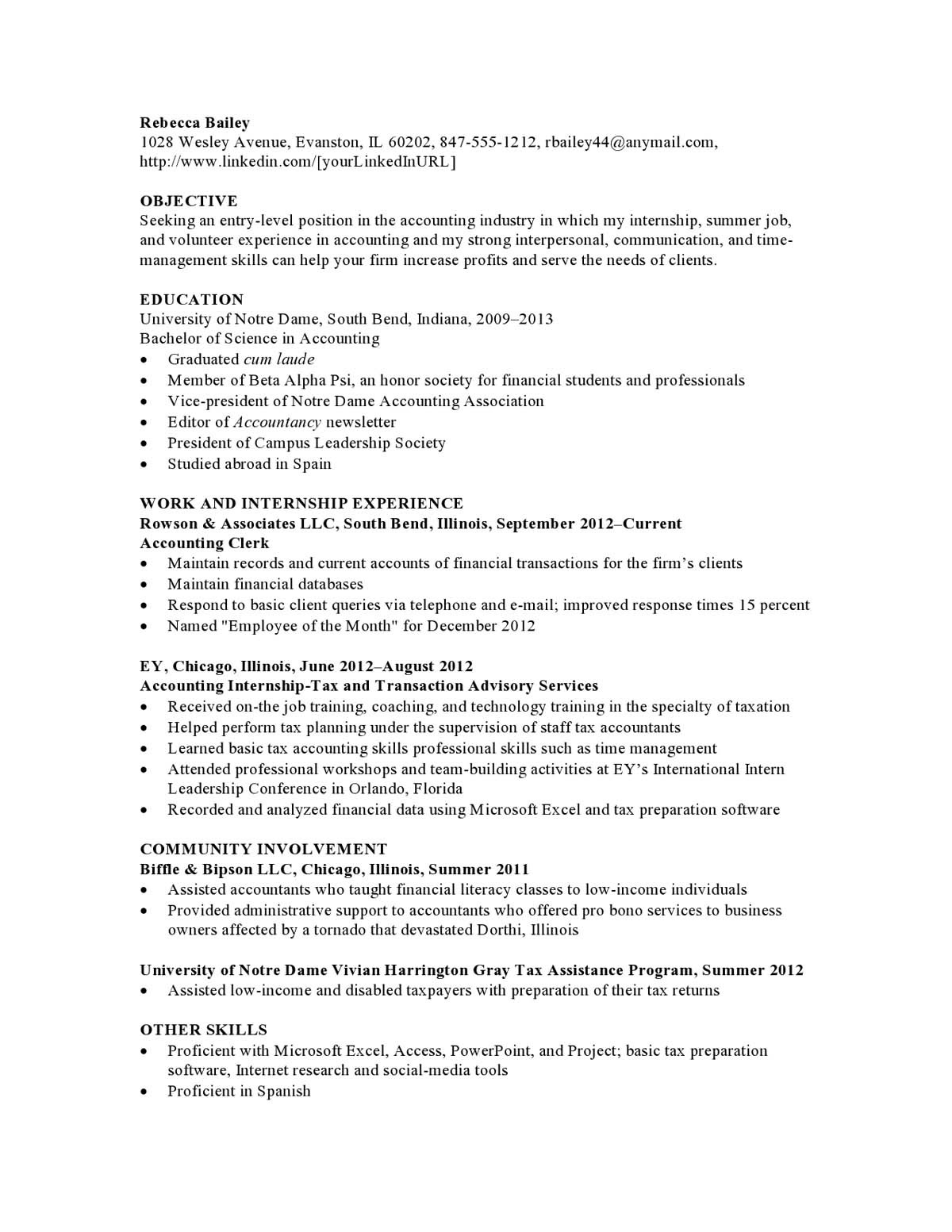 resume samples templates