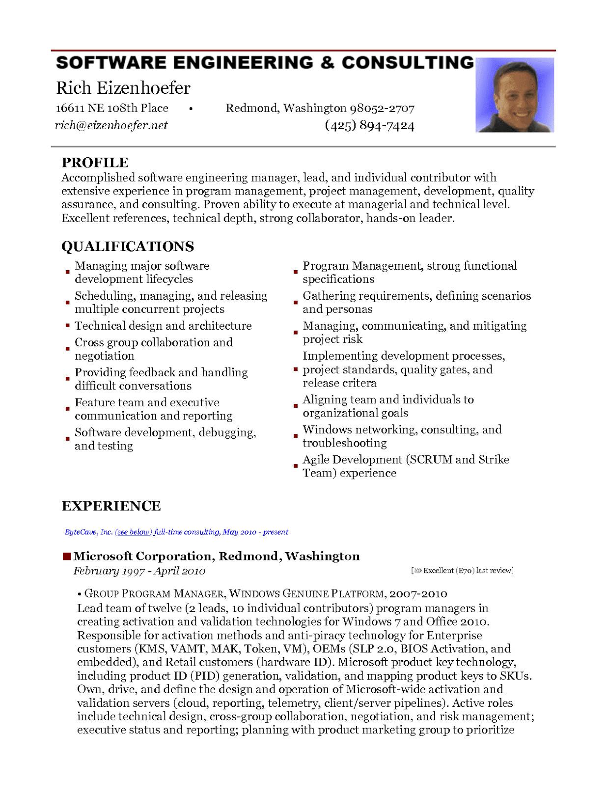 2 years experience resume