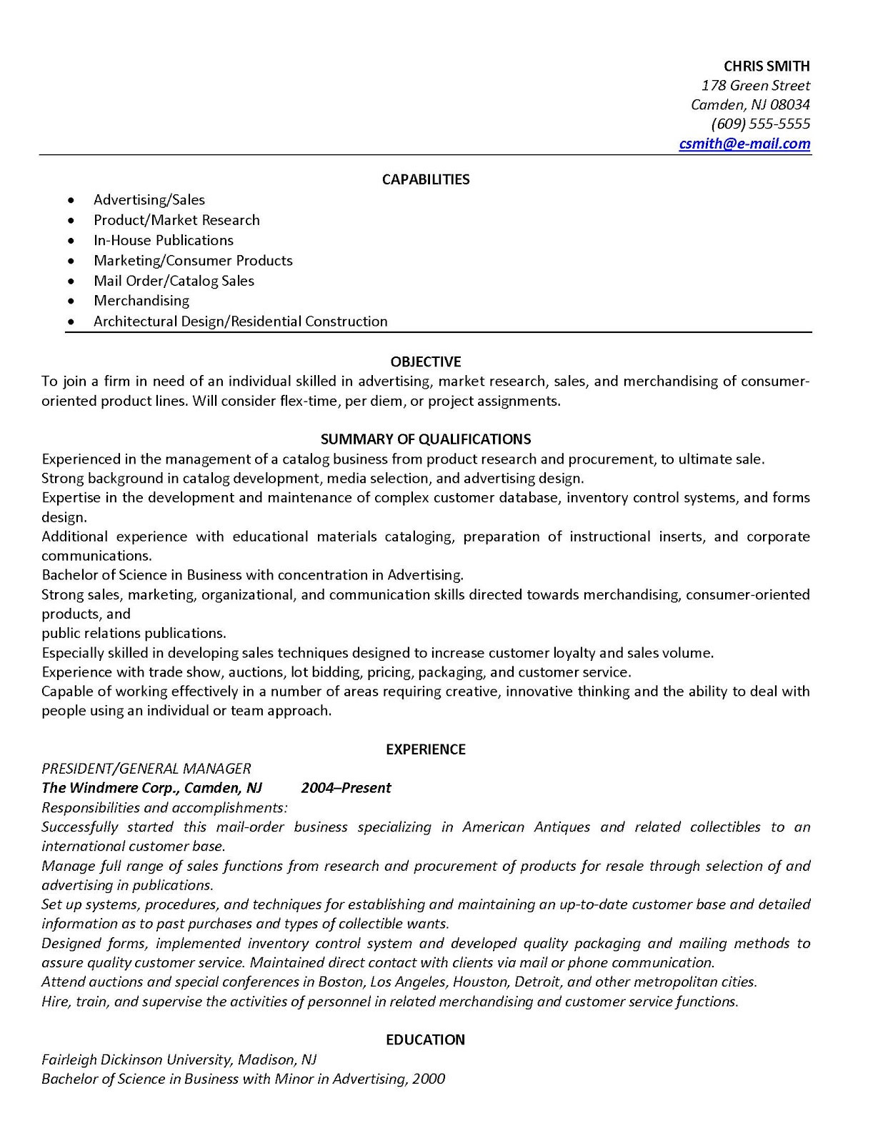 best functional resumes for 2012