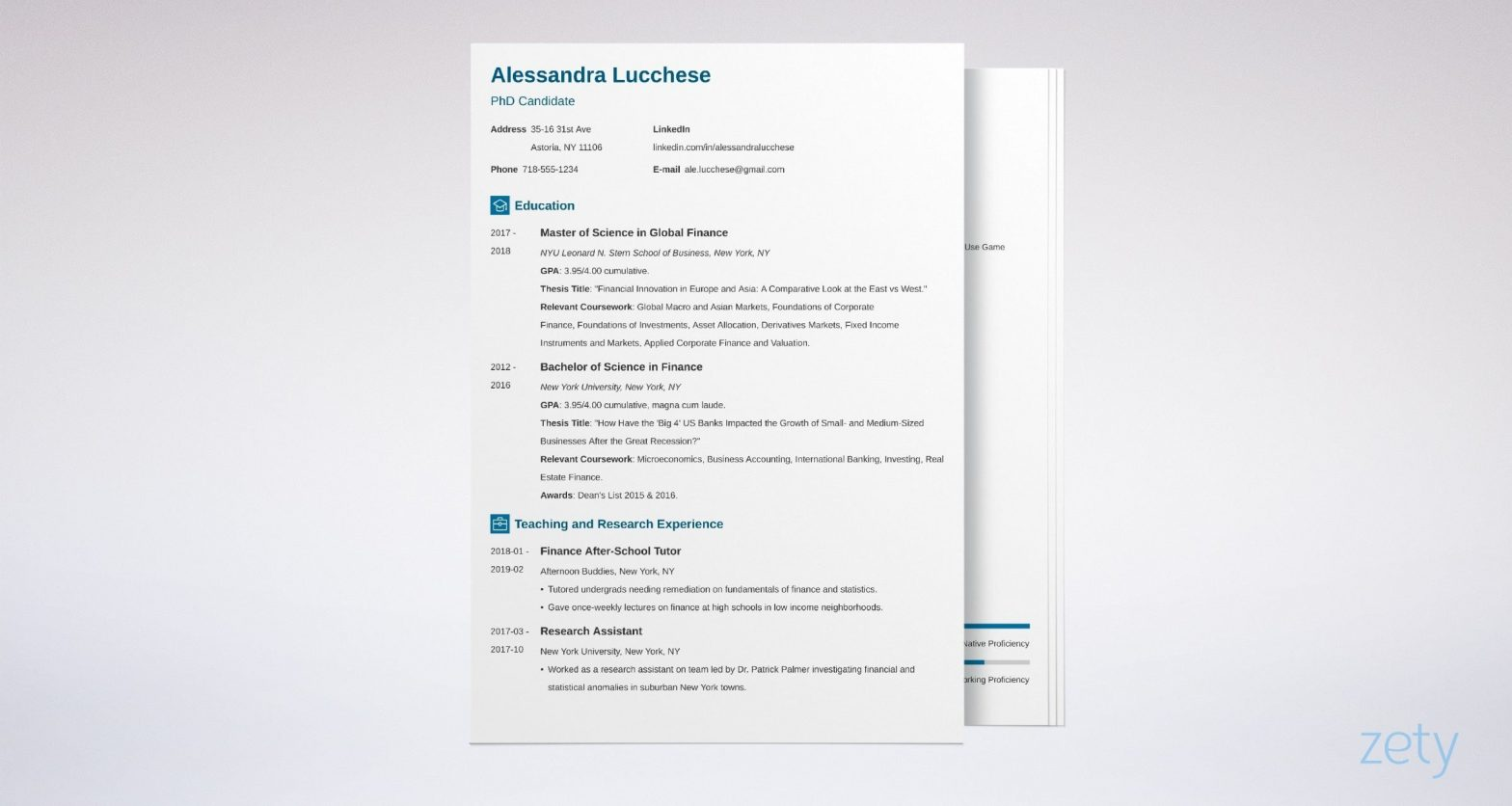 Graduate Student Resume for Masters Application Sample Resume for Graduate School Application [template & Examples]