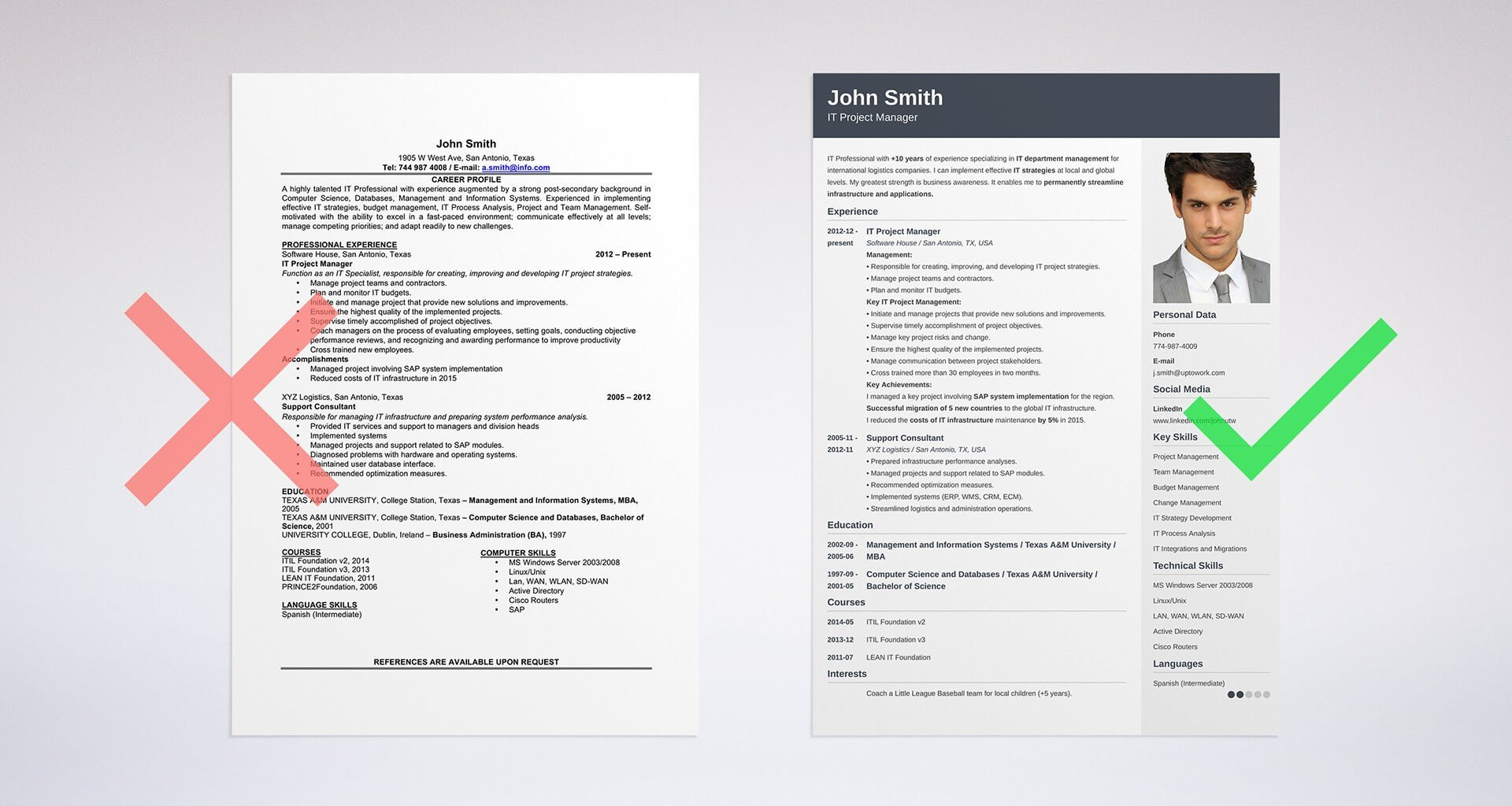hobbies and interests on a resume