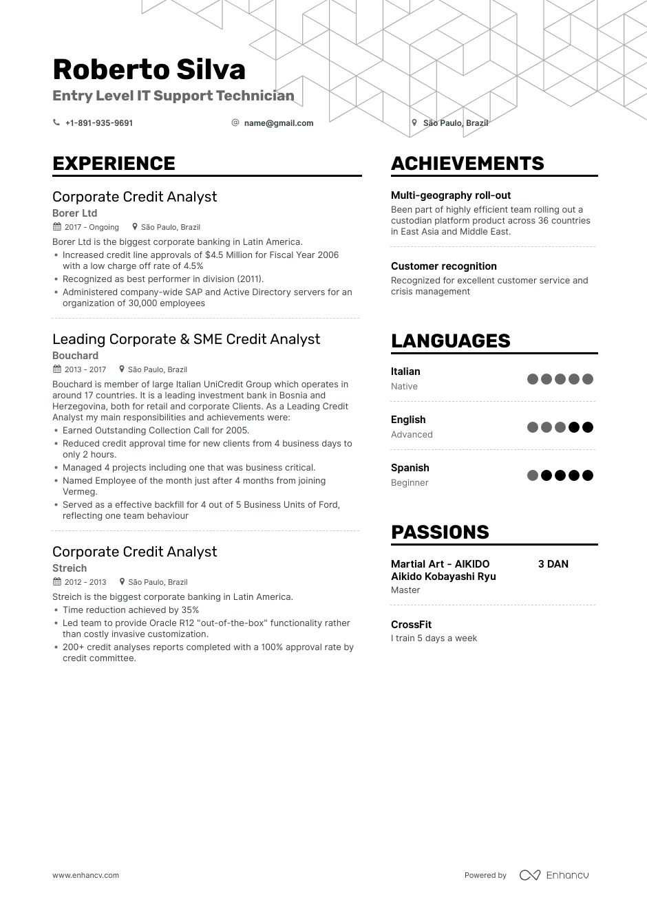 entry level it