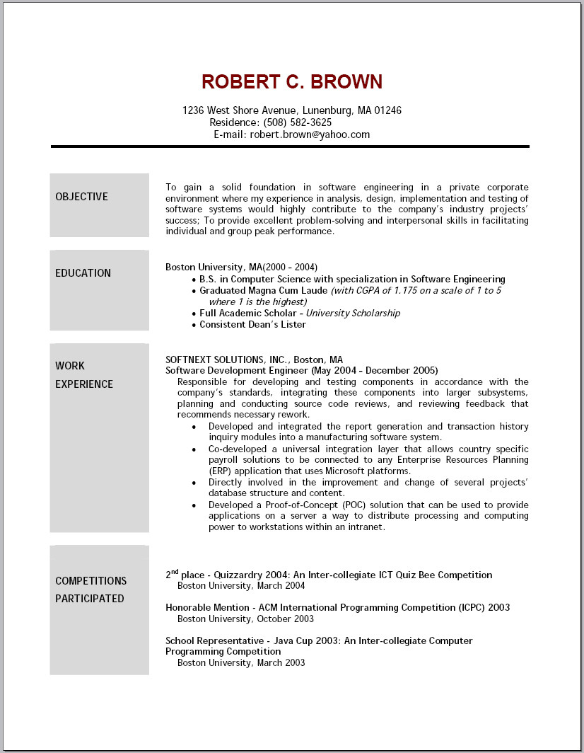 what to write in objective of resume for teacherml