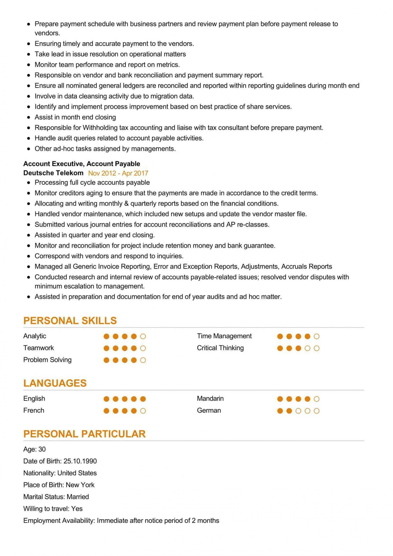 Sample Resume for Experienced Finance Executive Finance Executive Resume Sample Resumekraft