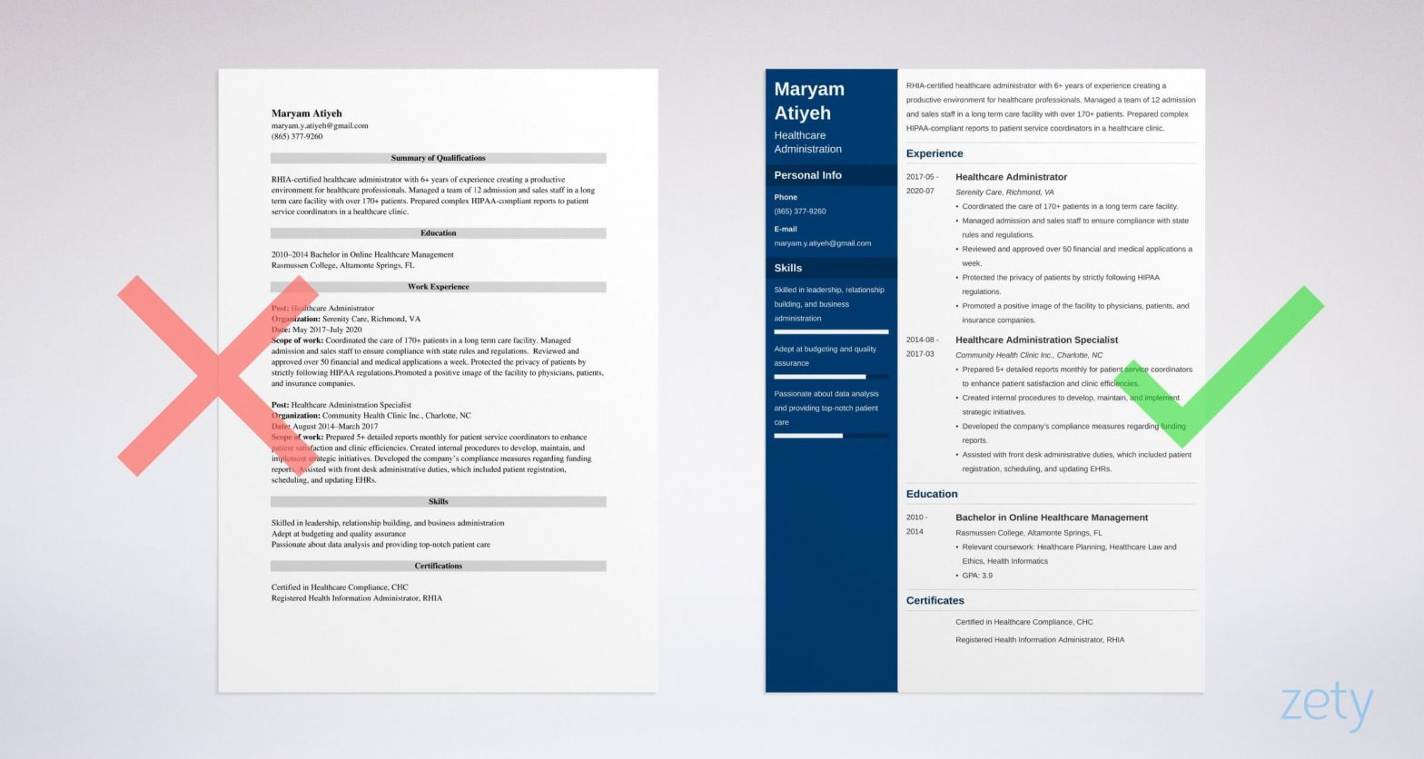 Sample Resume for Hospital Management Freshers Healthcare Administration Resume: Samples and Writing Guide