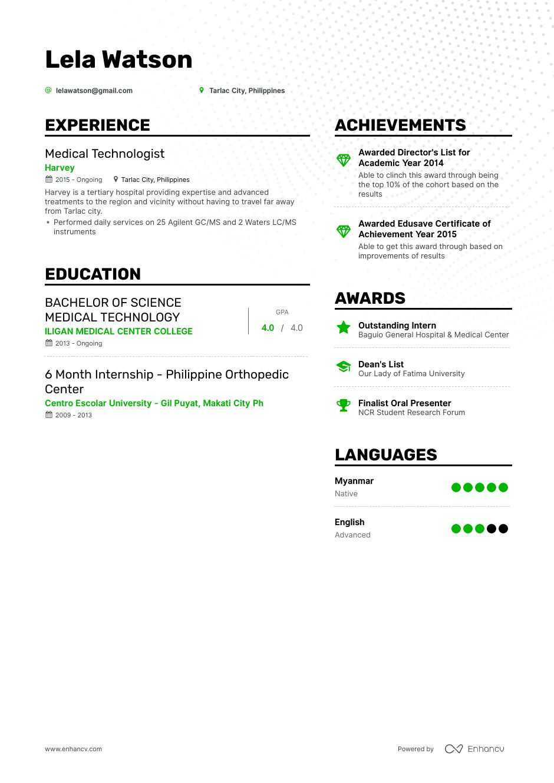 updated resume format 2020 philippines