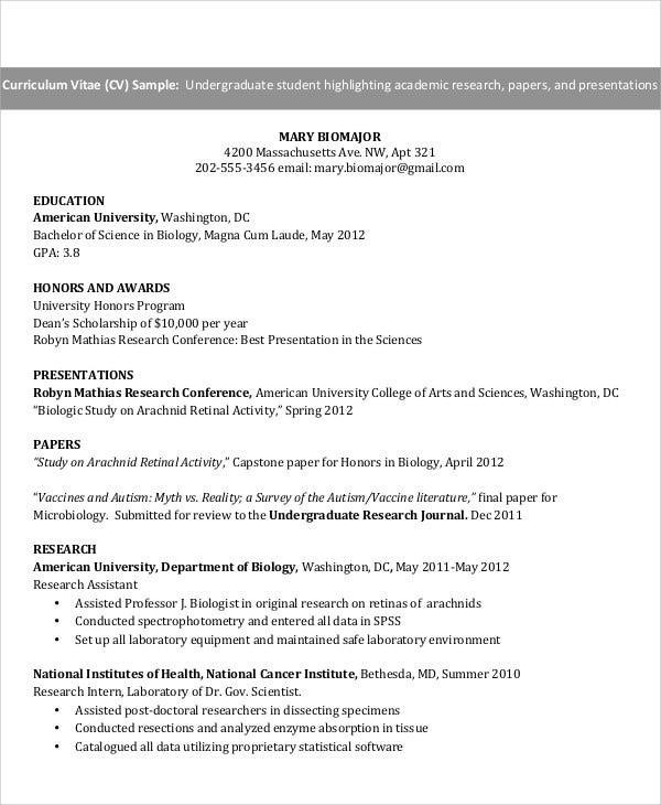 resume for ojt psychology student