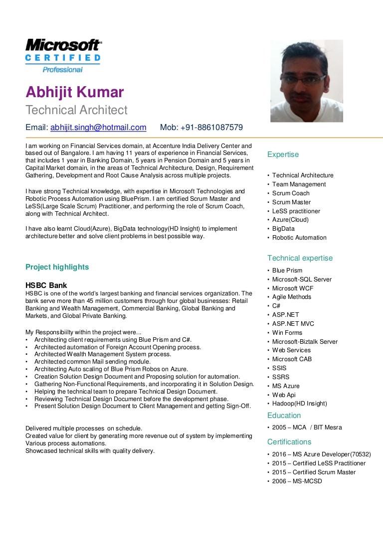 cv abhijit