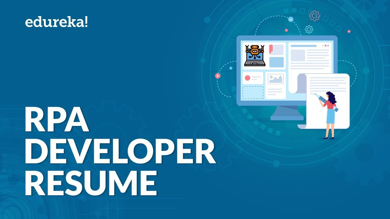rpa developer sample resume