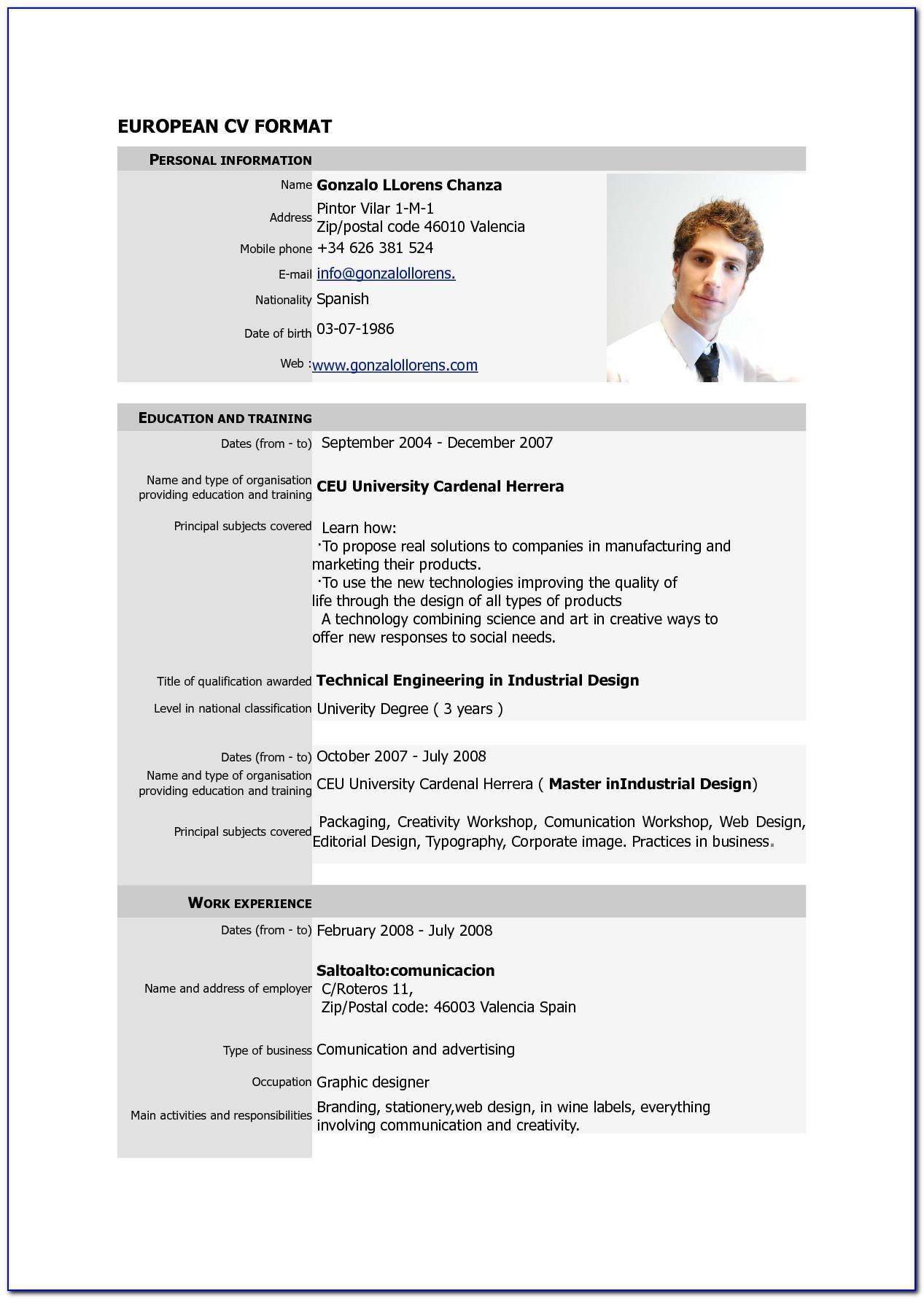how to write cv pdf 2019ml