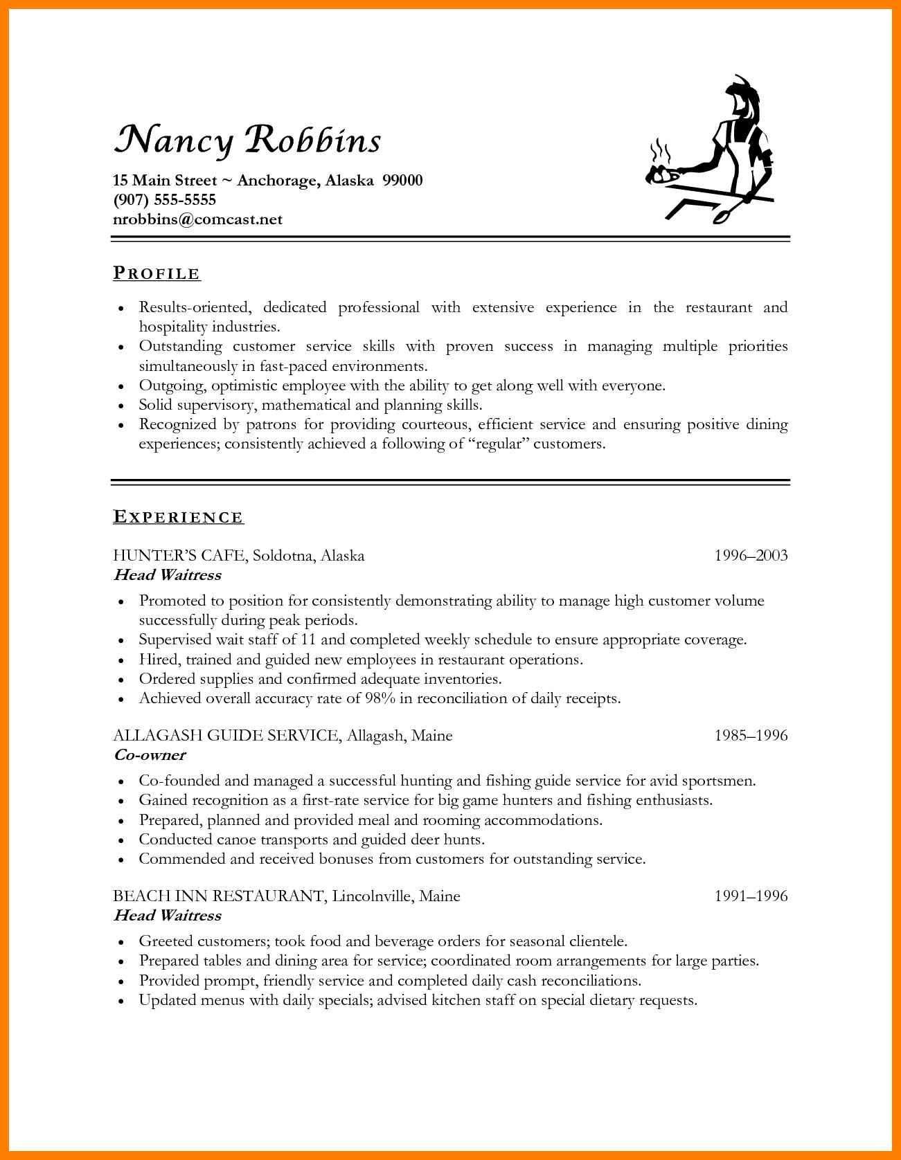 resume format for freshers hotelml