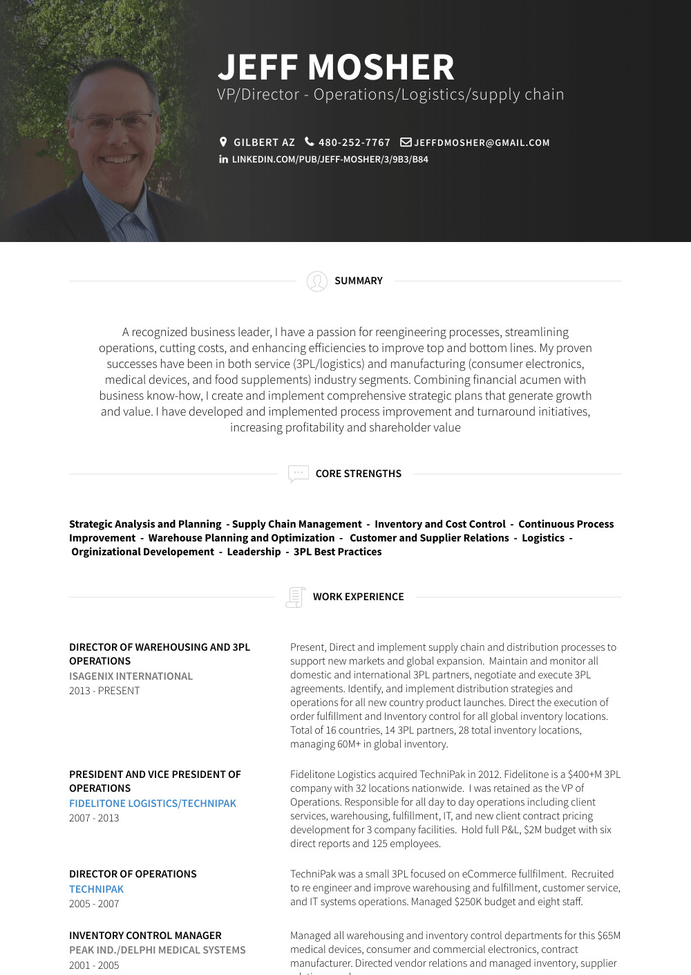 Sample Resume for Vice President Of Operations Vice President Operations Resume Samples and